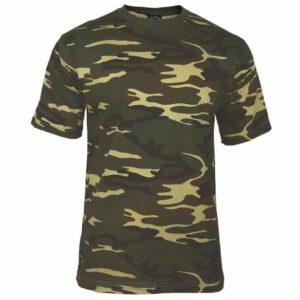 T-Shirt militare - Woodland