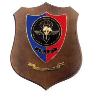 Crest CC G.I.S. Base in legno