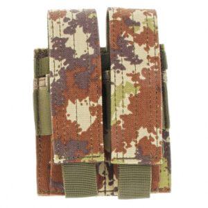 Porta Caricatore Pistola Doppio MA23 Vegetato