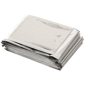 protegge dal freddo, dall'umidità e dal vento adatto anche come cuscino per sacco a pelo Dimensioni: circa 213 x 132 cm Peso: circa 50 g
